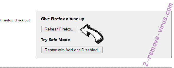 Speedtestace.co hijacker Firefox reset