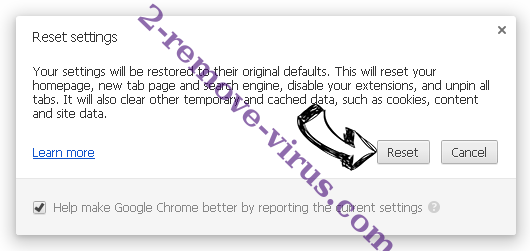 xVidly Chrome reset