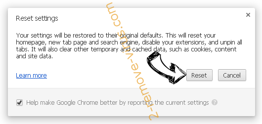 Searchgetlnn.com Chrome reset