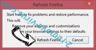 Weather Genie Firefox reset confirm