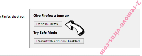 Weather Genie Firefox reset