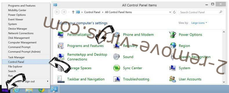 Delete MyDIYGenie Toolbar from Windows 8