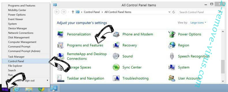 Delete National Consumer Center ads from Windows 8