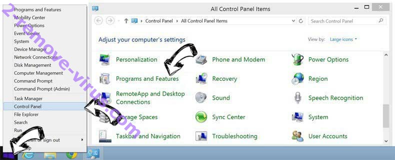 Delete Converters Now Toolbar from Windows 8