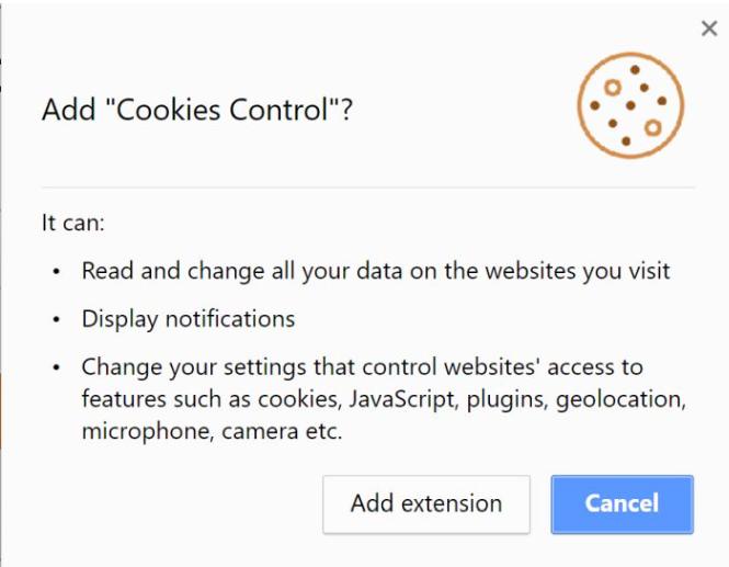 Cookies Control
