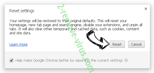 Scangoogle.ru Chrome reset