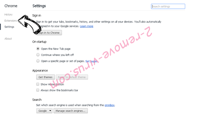 MetroWhiz Toolbar Chrome settings