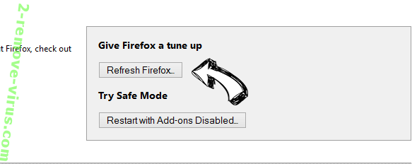 My99tab.com Virus Firefox reset