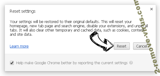 Surf-live.com Chrome reset