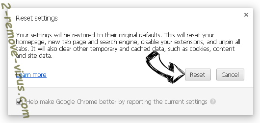 Loadoages.com Chrome reset
