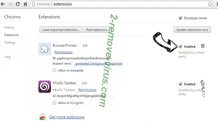Photor Chrome New Tab Chrome extensions disable