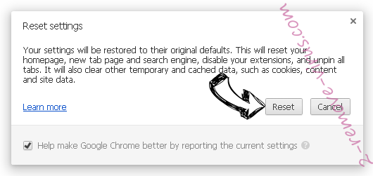 WatchNowTab Chrome reset