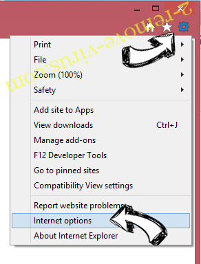 Zaxar Games Browser IE options