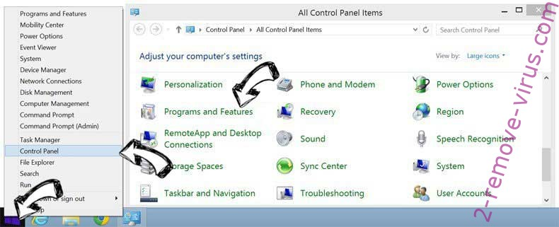 Delete Syndication.exosrv.com from Windows 8
