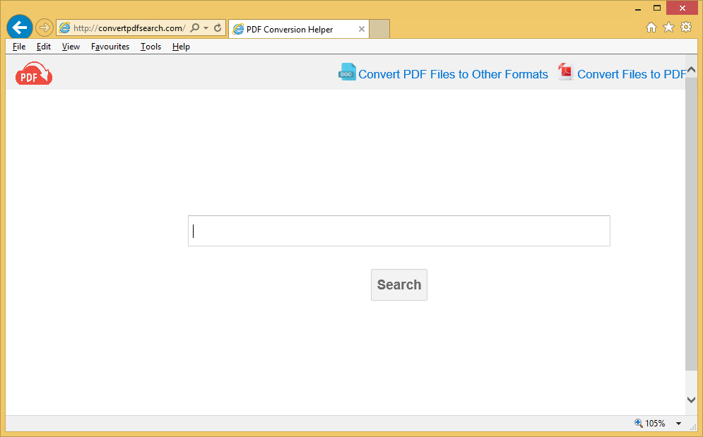 Suppression de Convertpdfsearch.com