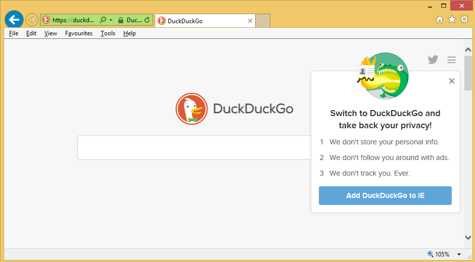 Duckduckgo – How to remove?