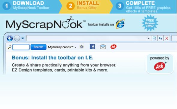 إزالة MyScrapNook