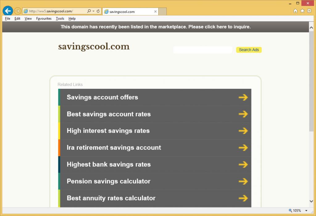 SavingsCool ads