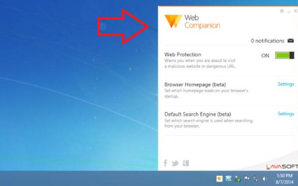 what is web companion utorrent