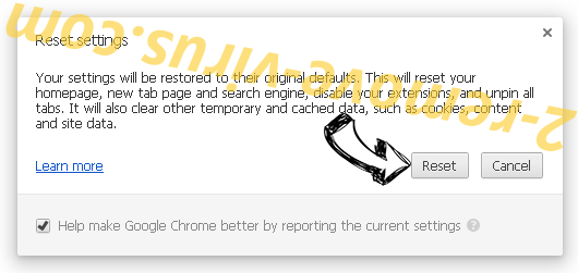 SupportFreeContent Search Chrome reset