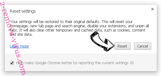 SecuryBrowse Protection Chrome reset