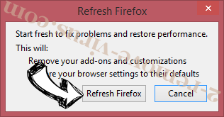 Directions Mapper Toolbar Firefox reset confirm