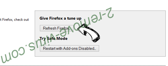 SecuryBrowse Protection Firefox reset
