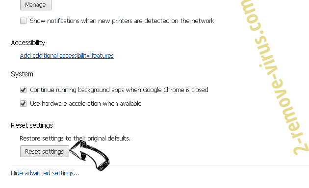 Go.mail.ru Chrome advanced menu