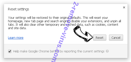 EFast Browser Chrome reset