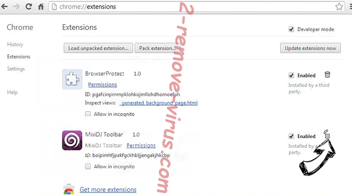 FormFetcherPro Browser Hijacker Chrome extensions remove