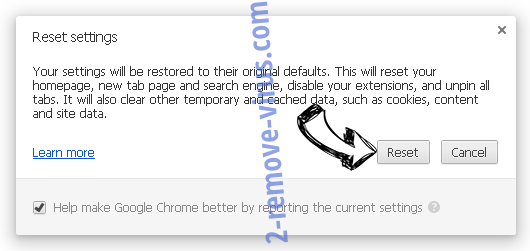 Mysearchprotect.com Chrome reset