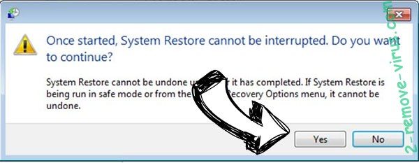 .herad file virus removal - restore message