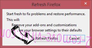 MobiDash Firefox reset confirm