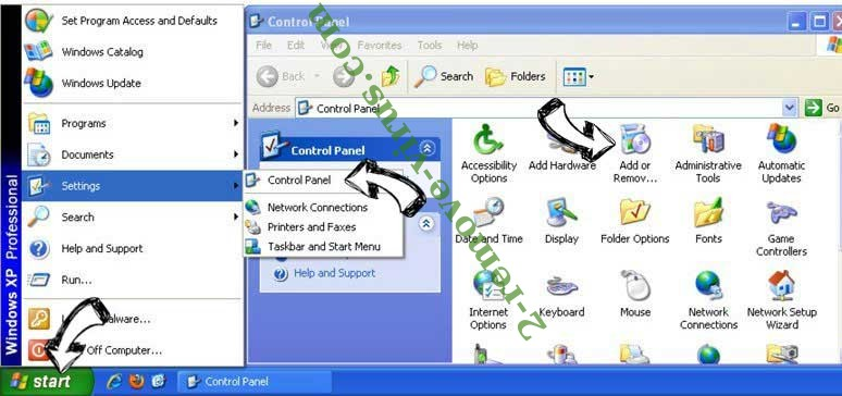 Remove MyDigitalCalendar Toolbar from Windows XP