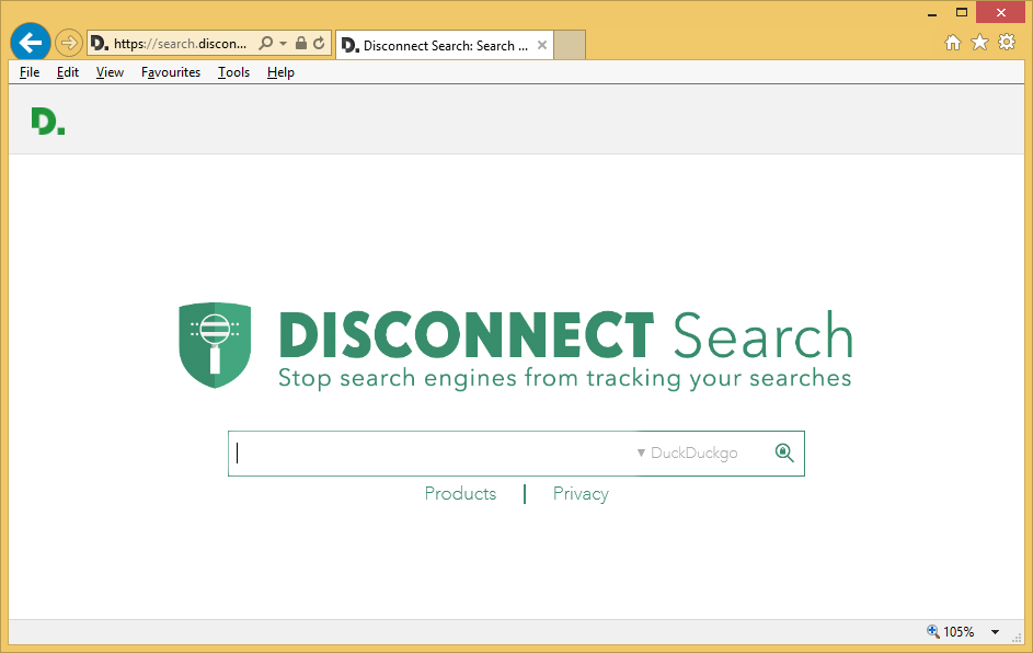 search-disconnect