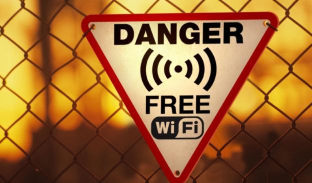 Avoid using public WiFi