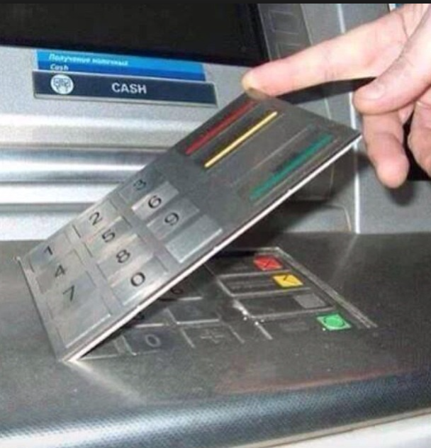 Stay vigilant when using ATMs and paying by card