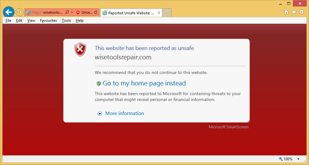 Odstranit Wisetoolsrepair.com