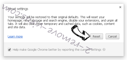Euro-search.net  Chrome reset