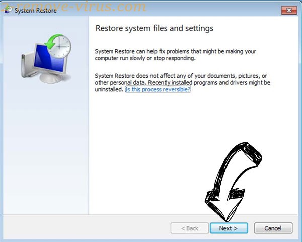 Get rid of Ebay virus - restore init