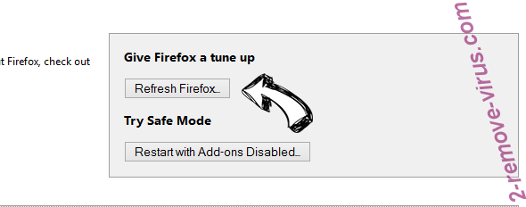 Webstartsearch.com Firefox reset