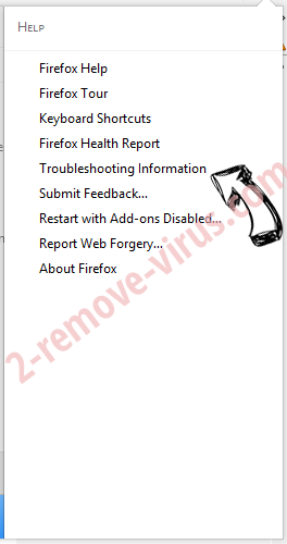Webstartsearch.com Firefox troubleshooting