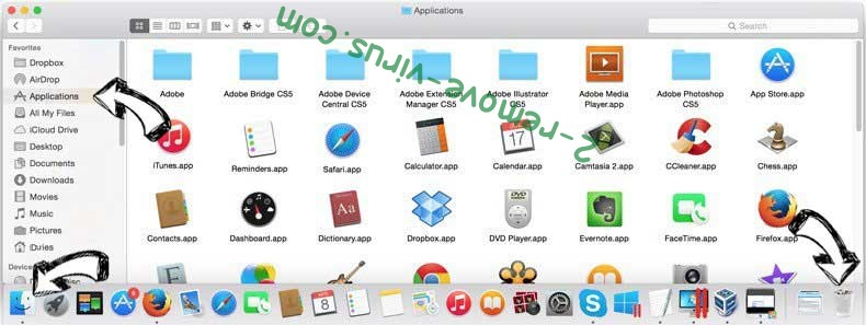 Search by Convert My File removal from MAC OS X