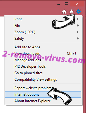 Kenyarhino.com Virus IE options