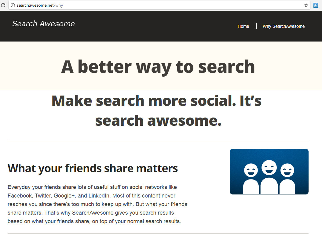 Search Awesome entfernen