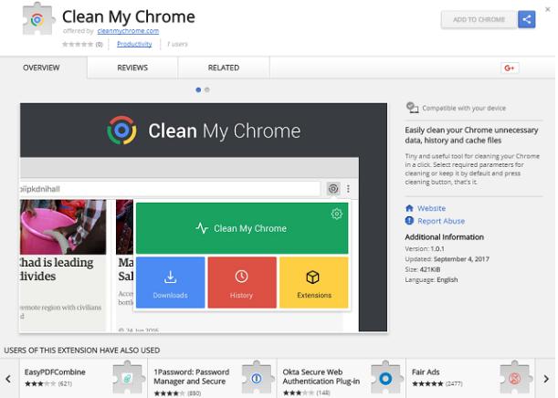 Clean My Chrome