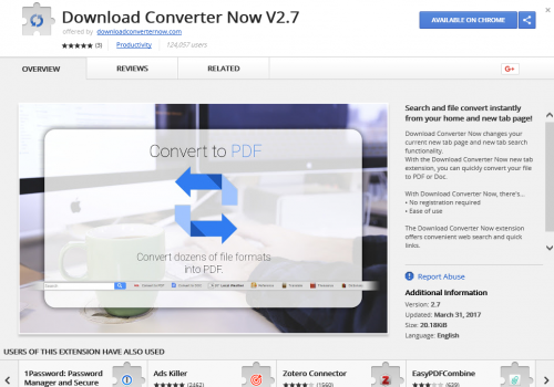 Remover Download Converter Now