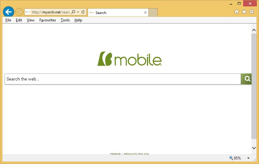 Mysrch.net verwijderen