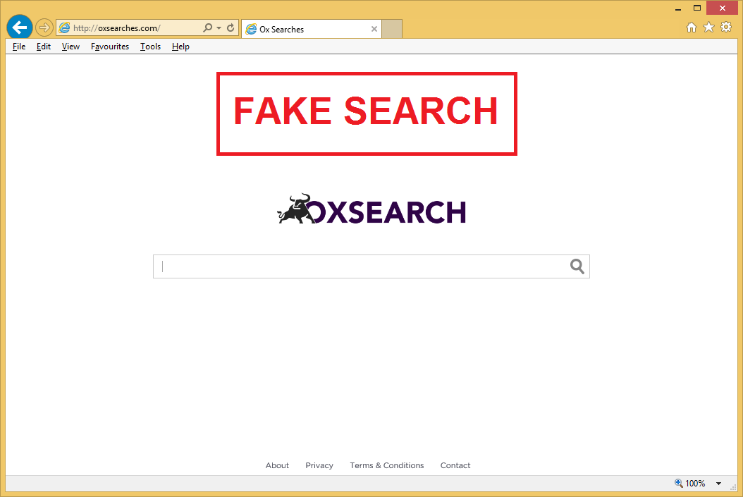 Rimuovere Oxsearches.com da Chrome, Firefox e Internet Explorer