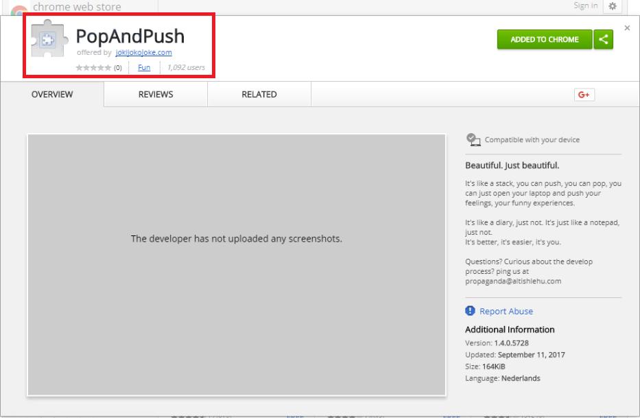 PopAndPush Virus